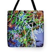 Fall Color Collage Tote Bag