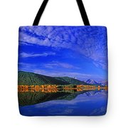 Fall Color Oxbow Bend Grand Tetons National Park Wyoming Tote Bag