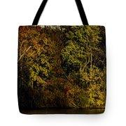 Fall Color Trees V7 Pano Tote Bag