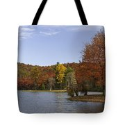 Fall Colors At Sherando Lake Tote Bag