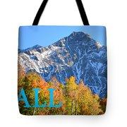Fall Colors Cover Work Tote Bag