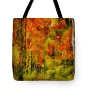 Fall Colors In Ohio Tote Bag