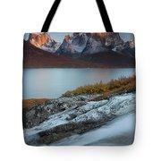 Fall Colors In Tasermiut Fiord Tote Bag