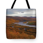 Fall Colors In The Arctic Tote Bag