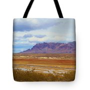 Fall Colors In The Lake Bed Tote Bag