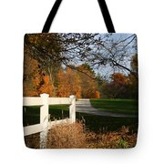 Fall Comes To The Hollow Tote Bag