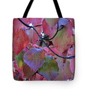 Fall Dogwood Leaf Colors 2 Tote Bag