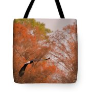 Fall Eagle Tote Bag