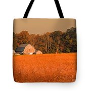 Fall Farm Tote Bag