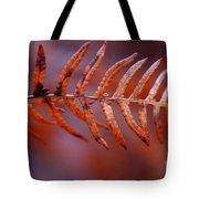 Fall Fern Tote Bag