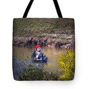 Fall Fishing Tote Bag