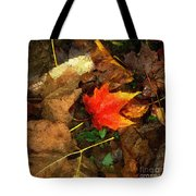 Fall Flames Out Tote Bag