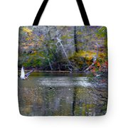 Fall Flight Tote Bag