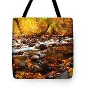 Fall Flow At Mcgee Creek Tote Bag