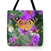 Fall Flutterby Tote Bag