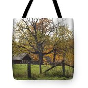 Fall Foilage In Country Tote Bag