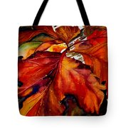 Autumn Dressage Tote Bag