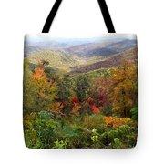 Fall Folage 3 Along The Blueridge Tote Bag
