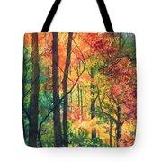 Fall Foliage Tote Bag by Barbara Jewell