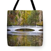 Fall Footbridge Tote Bag