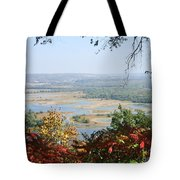 Fall Framed Islands Tote Bag
