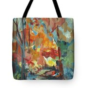 Fall From My Window Tote Bag