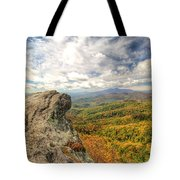Fall From The Blowing Rock Tote Bag
