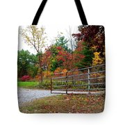 Fall Gate Tote Bag