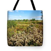 Fall Goldenrod Field Tote Bag