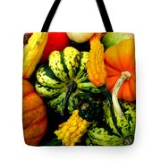 Fall Gourds Tote Bag