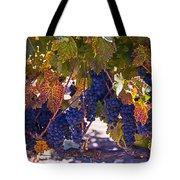 Fall Grape Harvest Tote Bag