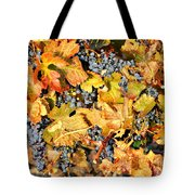 Fall Grapes Tote Bag