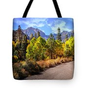 Fall Hiking In The High Sierras Tote Bag