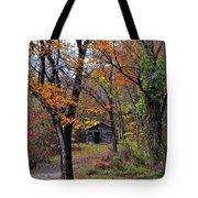 Fall Homestead Tote Bag
