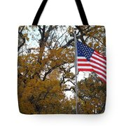 Fall In America Tote Bag