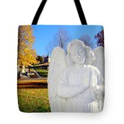 Fall In Angel Tote Bag