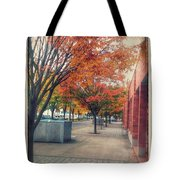 Fall In Downtown Vancouver Washington Tote Bag