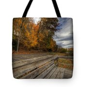 Fall In Mill Creek Park Tote Bag