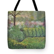 Fall In Monet's Garden Tote Bag