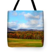 Fall In Rocky Mount Tote Bag