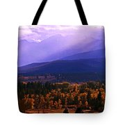 Fall In The Bitterroot Valley Tote Bag