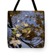 Fall In The Lake In Vienna No. 1 Tote Bag