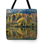 Fall Kaleidoscope Tote Bag