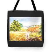Fall Landscape Briones Park California Tote Bag