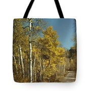 Fall Lane Tote Bag