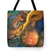 Fall Like Lightning Tote Bag