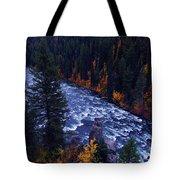 Lower Mesa Falls Tote Bag