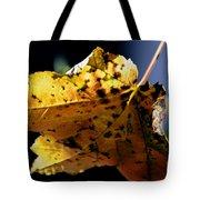 Fall Maple Leaf Tote Bag