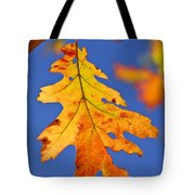 Fall Oak Leaf Tote Bag