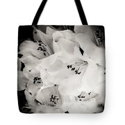 Fall Of Flowers Tote Bag